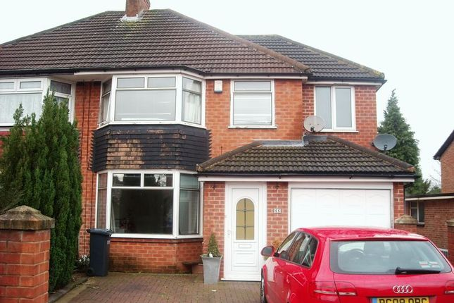 Thumbnail Semi-detached house for sale in Fernhill Road, Solihull