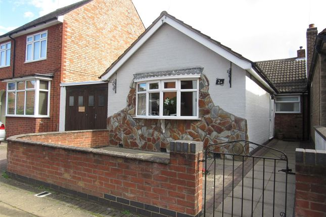 Thumbnail Detached bungalow for sale in Co-Operation Street, Enderby, Leicester