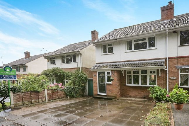 Thumbnail Semi-detached house for sale in Mill Lane, Tettenhall Wood, Wolverhampton
