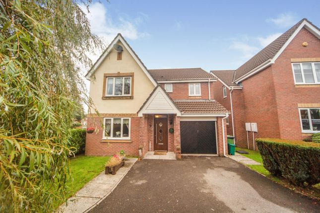 Thumbnail Detached house for sale in Cynllan Avenue, Llanharan, Pontyclun