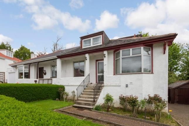 Thumbnail Bungalow for sale in Kingscourt Avenue, Glasgow, Lanarkshire