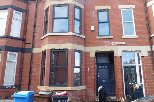Thumbnail Shared accommodation to rent in Carlton Road, Salford