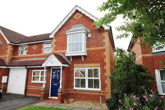 Thumbnail Semi-detached house for sale in Wadham Grove, Emersons Green, Bristol, Gloucestershire