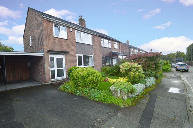 Thumbnail Semi-detached house for sale in Wingate Drive, Whitefield, Manchester
