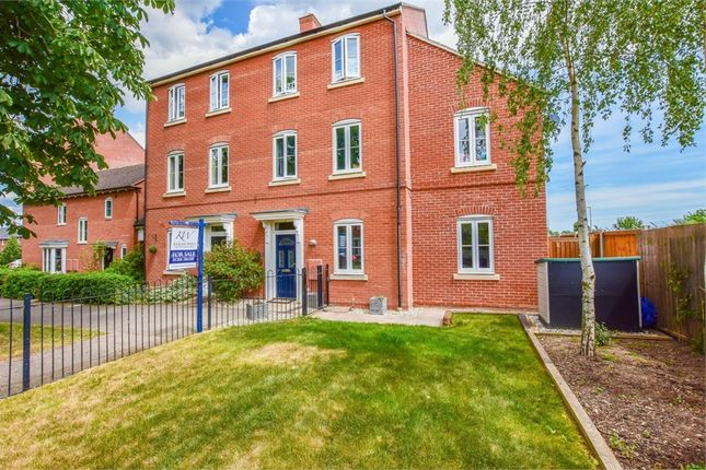 Thumbnail End terrace house for sale in Abbey Field View, Colchester, Essex