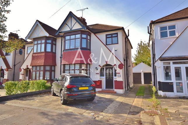 Thumbnail Semi-detached house for sale in Greenleafe Drive, Barkingside, Ilford