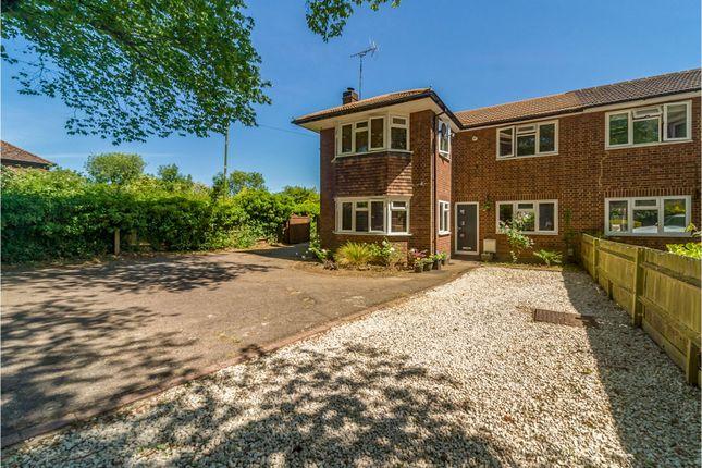 Thumbnail Semi-detached house for sale in Fairview Road, Stevenage