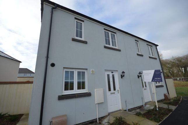 2 bed semi-detached house for sale in Trevethan Meadows, Carlton Way, Liskeard