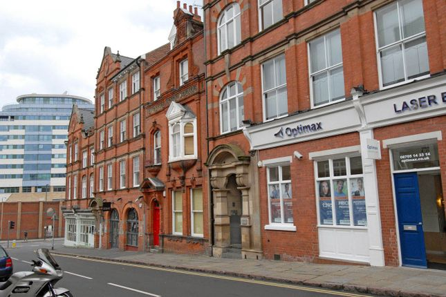 Thumbnail Flat to rent in The Zinc Building, 26 - 30 Heathcote Street, Nottingham