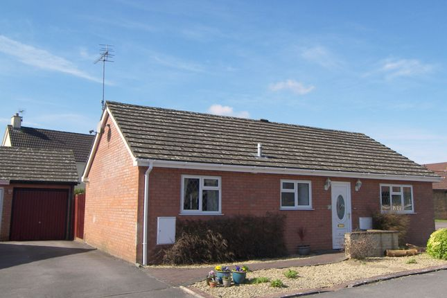 Thumbnail Detached bungalow for sale in Tasker Close, Corsham