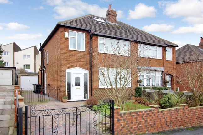 Thumbnail Semi-detached house for sale in Field End Gardens, Halton, Leeds