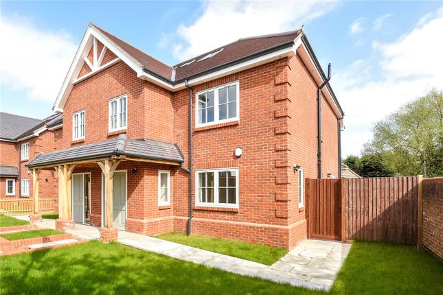 Thumbnail Semi-detached house for sale in Lambourne Place, Ickenham, Uxbridge, Middlesex