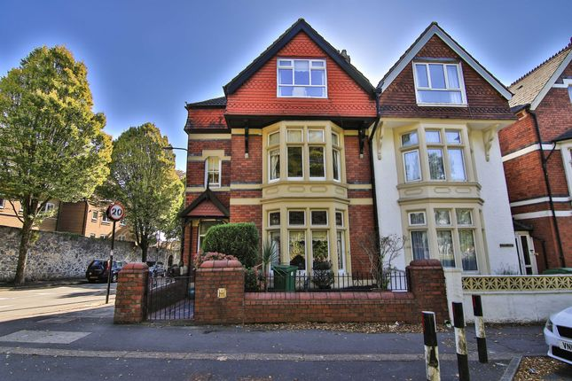 Thumbnail End terrace house for sale in Pencisely Road, Llandaff, Cardiff