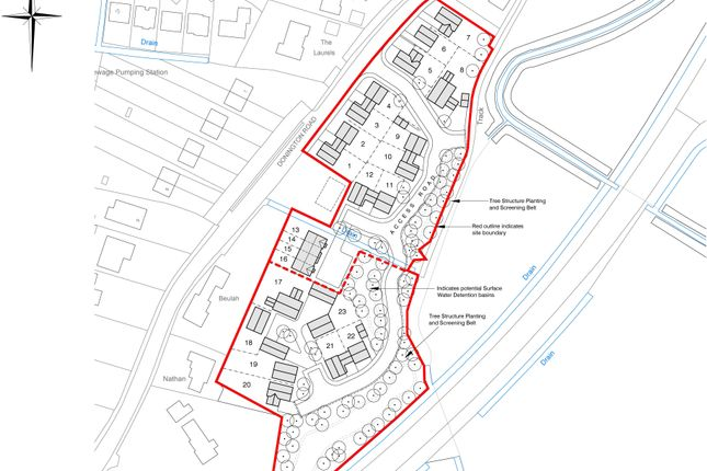 Thumbnail Land for sale in Donington Road, Bicker