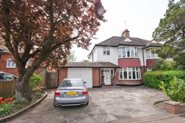 Thumbnail Semi-detached house for sale in Cecil Park, Pinner, Middlesex
