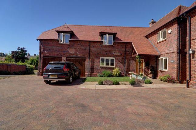 Thumbnail Detached house for sale in Farm Court, Shenley Brook End, Milton Keynes
