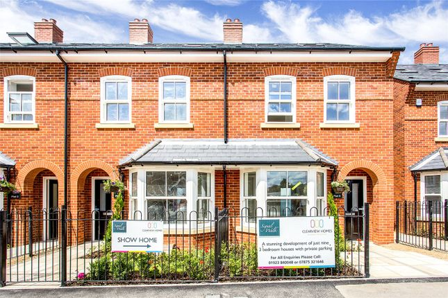 Thumbnail Terraced house for sale in Signal Walk, Station Approach, Marlow, Buckinghamshire