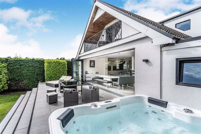 Thumbnail Link-detached house for sale in Highpool Close, Newton, Swansea