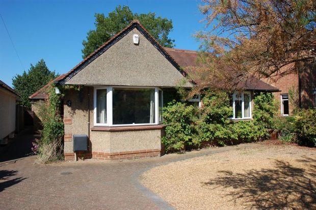 Thumbnail Detached bungalow for sale in Ashley Lane, Moulton, Northampton