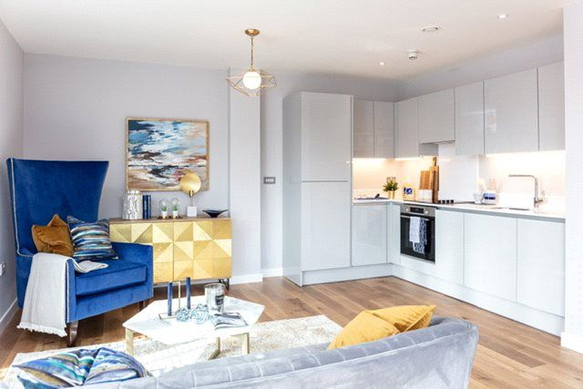 Thumbnail Flat for sale in Apartment E501.07, Wapping Wharf, Cumberland Road, Bristol