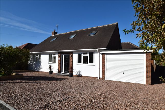 Thumbnail Detached bungalow for sale in Bevere Drive, Bevere, Worcestershire