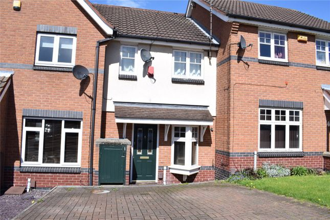 2 bed terraced house for sale in Wooliscroft Close, Shipley View, Ilkeston, Derbyshire