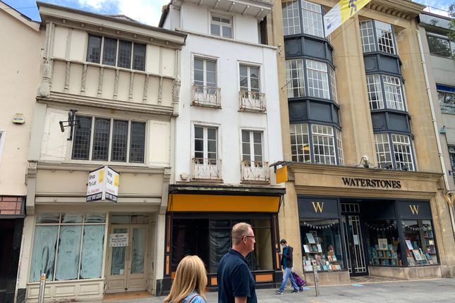 Thumbnail Retail premises to let in High Street, Exeter