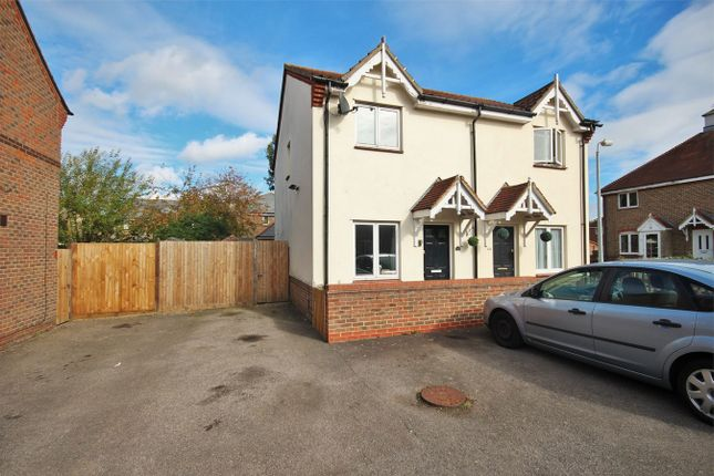 Thumbnail Semi-detached house for sale in Hallcroft Chase, Highwoods, Colchester, Essex