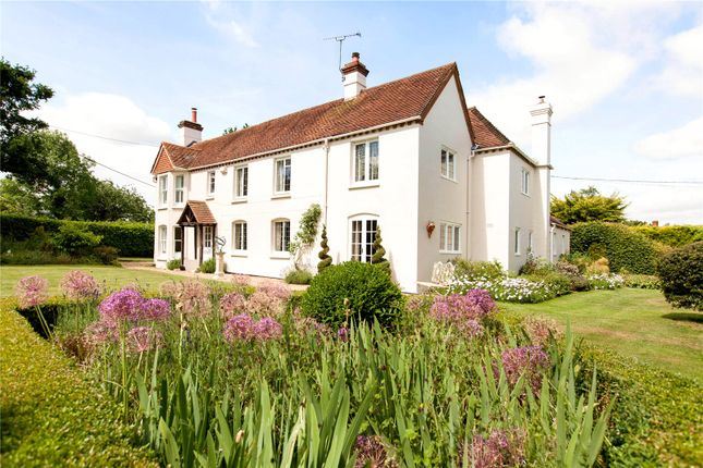 Thumbnail Detached house for sale in Cock Lane, Bradfield Southend, Reading, Berkshire