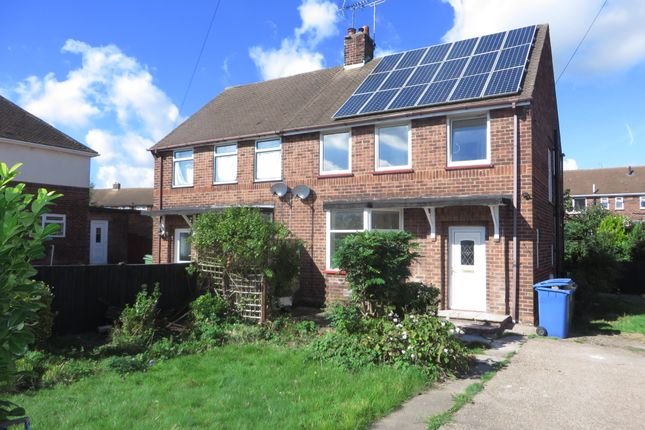 Thumbnail Semi-detached house to rent in Coronation Drive, Forest Town, Mansfield