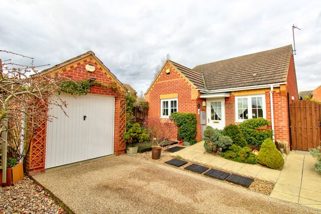 Thumbnail Bungalow for sale in Hunter Close, Shortstown, Bedford