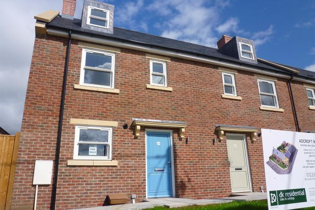 Thumbnail End terrace house for sale in British Row, Trowbridge