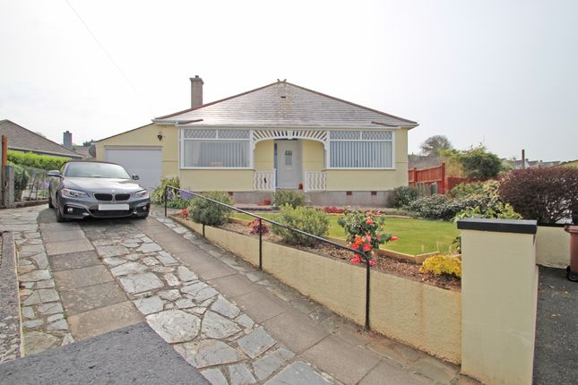 Thumbnail Detached bungalow for sale in Berry Park Close, Plymouth, Plymstock, Devon