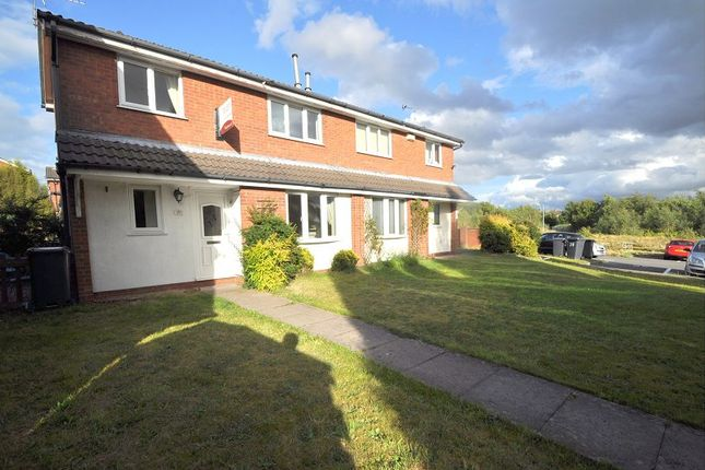 Thumbnail Terraced house to rent in Winterside Close, Newcastle-Under-Lyme
