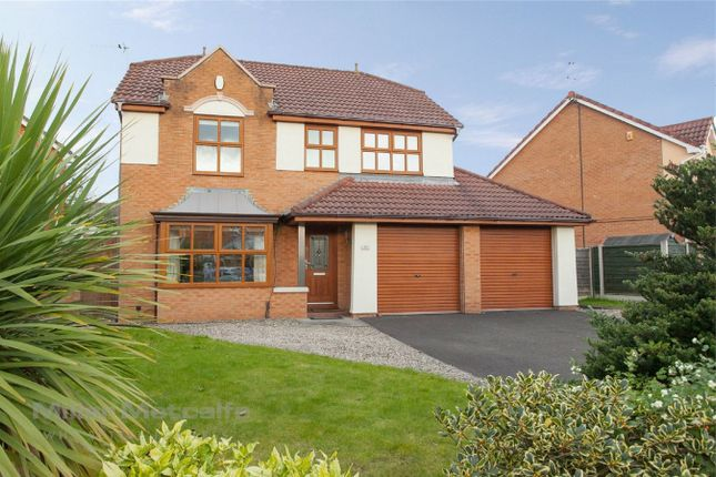Thumbnail Detached house for sale in Greylag Crescent, Ellenbrook, Worsley, Manchester