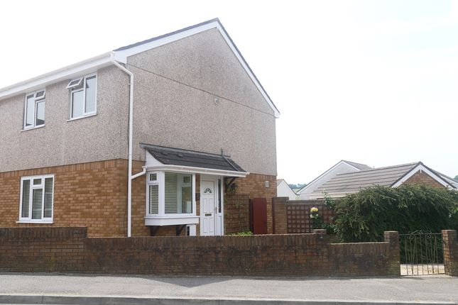 Thumbnail Semi-detached house to rent in Snell Drive, Latchbrook, Saltash