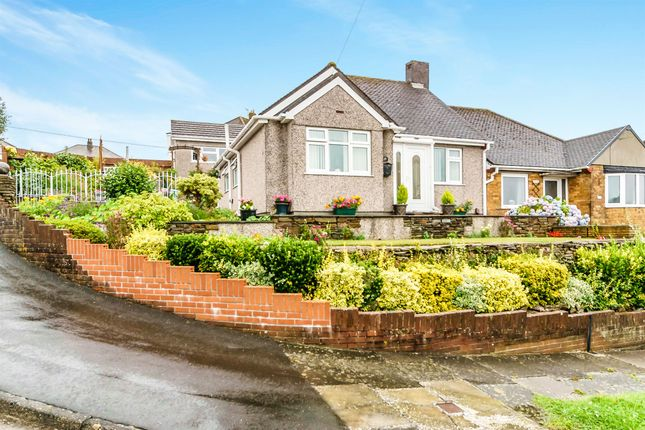 Thumbnail Semi-detached bungalow for sale in Treverbyn Road, Plympton, Plymouth