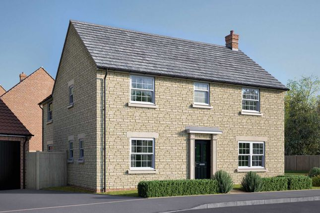 "Thumbnail Detached house for sale in ""The Kempthorne"" at Uffington Road, Barnack, Stamford"