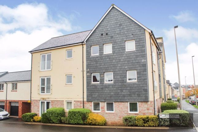 Thumbnail 1 bed flat for sale in Younghayes Road, Cranbrook, Exeter
