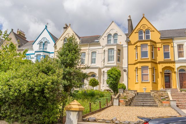 Thumbnail Town house for sale in Connaught Avenue, Mutley, Plymouth