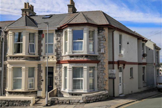 Thumbnail Terraced house for sale in Glen Park Avenue, Mutley, Plymouth, Devon