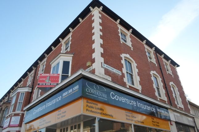 Thumbnail Flat to rent in De Montford Street, Leicester