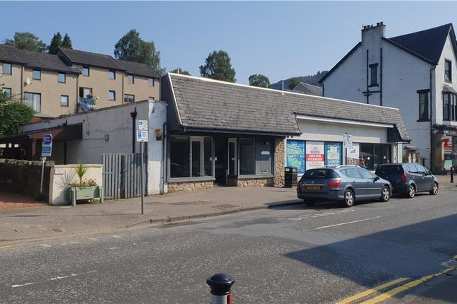Thumbnail Retail premises for sale in Former Co-Operative Food Store, Main Street, Aberfoyle