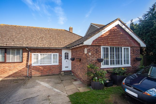 Thumbnail Bungalow for sale in Roderick Avenue, Peacehaven