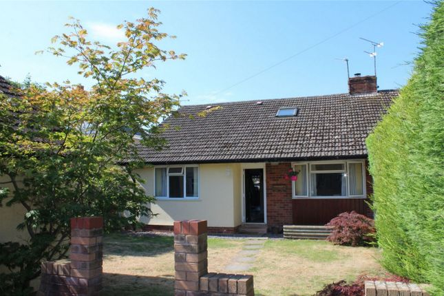 Thumbnail Semi-detached bungalow for sale in Meadowside Close, Bishops Hull, Taunton