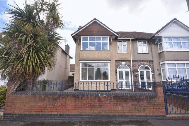 Thumbnail Semi-detached house for sale in Holdenhurst Road, Kingswood, Bristol