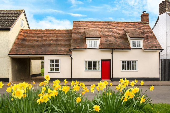 Thumbnail Link-detached house for sale in Church Street, Steeple Morden, Royston