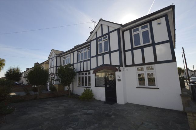 Thumbnail Semi-detached house for sale in Lansdowne Avenue, Bexleyheath, Kent