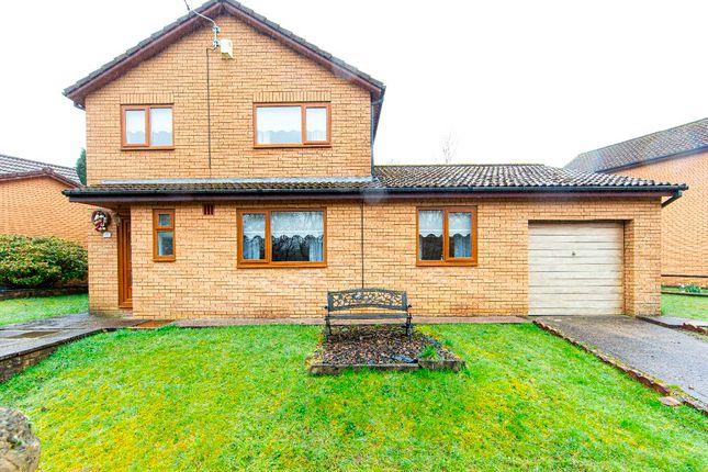 Thumbnail Detached house for sale in Heol Nant Caiach, Millbrook, Treharris