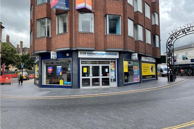 Thumbnail Retail premises to let in 1 Horsefair Street, Leicester, Leicestershire